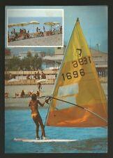 AD7835 Reggio Calabria - Provincia - Bianco - Vedute - Bellezza in barca a vela