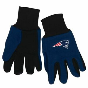 NFL NEW ENGLAND PATRIOTS GLOVES KIDS YOUTH SIZE TWO-TONE NEW