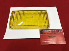 Glas Nebelscheinwerfer gelb Mercedes W107 R107 SL SLC gelbglas NOS BOSCH (-088)