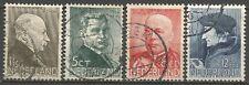 NEDERLAND; NVPH  283/286 GEBRUIKT/USED