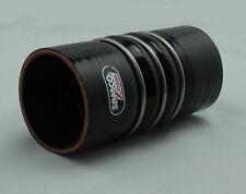 Samco Xtreme Silikon-Aramid Ladeluftkühler Schlauch 70mm schwarz X-treme Extreme