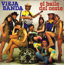 "VIEJA BANDA - EL BAILE DEL OESTE + EL MORO MUZA SINGLE 7"" SPAIN 1983 EXCELLENT"
