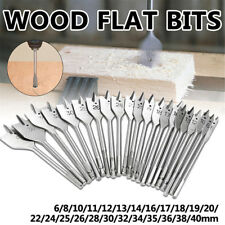 Flat Wood Drill Bits Carbon Steel Spade Hex Shank Cutter Carpenter Tool Engaging
