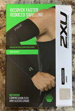 Recovery Compression Flex Arm Sleeves (Pair) - 2XU - Size Medium - Excellent