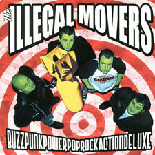 THE ILLEGAL MOVERS BuzzPunkPowerPopRockActionDeluxe LP . punk rock zeke dwarves