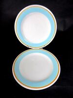 Set of 2 Laurie Powder Blue Gates Capri Dinner Plates Chargers 11 3/4""
