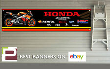 Repsol Honda CBR 1000rr Logo Banner XL for Workshop, Garage, Pit Lane, HRC