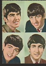 The Beatles Original 1960s Postcard John Paul George Ringo