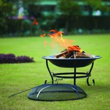 23� Outdoor Wood Burning Fire Pit-Buy Today And Get Next Day Shipping