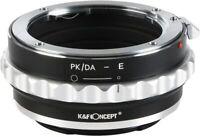 Lens Mount Adapter Ring for Pentax K/M/A/FA/DA Objektiv to Sony NEX E Camera