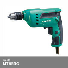 "Makita Maktec MT653G Electric Drill 1/4"" 6.5mm 230W 220V 2M Corded 2.2 lbs"