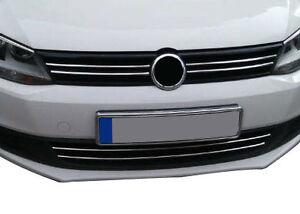 Modanature cromati griglia y paragolpes frontale VW JETTA