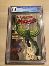 Amazing Spider-Man #48 CGC 8.5  (May 1967, Marvel) *1ST BLACKIE DRAGO VULTURE*