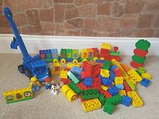 Lego Duplo 1.4kg Brick Bundle Number Train Bob The Builder