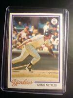 1978 TOPPS #250 Graig Nettles Yankees NmMt