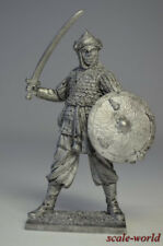 Tin soldier, figure. Muslim warrior, 13th century. 54 mm