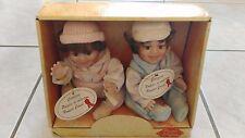Muñecas De Porcelana Vintage «Pierrette Y Piedra Colección Carine.
