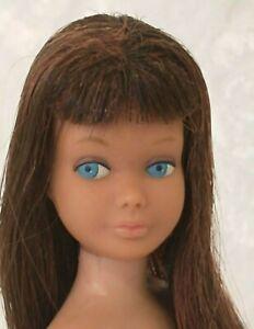 Vintage Barbie sister SKIPPER TWO-TONE BRUNETTE/TITIAN HTF Mattel 1960s