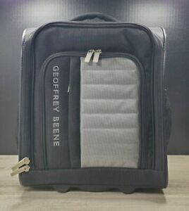"""Geoffrey Beene Adventure Luggage 15"""" Rolling Pull Out Handle Cabin Bag"""