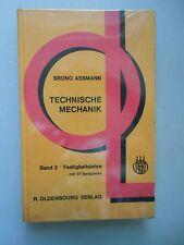 3 Bücher Technische Mechanik Festigkeitslehre Kinematik Kinetik Aufgaben