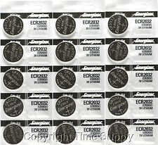 15 pcs 2032 Energizer Watch Batteries CR2032 CR2032Original Lithium Battery 0%HG