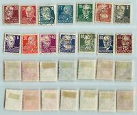 Germany 1948 SC 10N29 II 10N44 used  1921-1930 . d1850