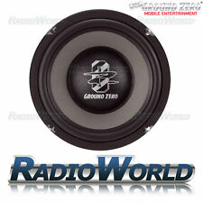 "Ground gzmw 200NEO Zero Radioactive 8"" SLIM SUB SUBWOOFER BASS CAR AUDIO 150 W"