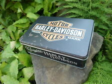 Official - GENUINE HARLEY-DAVIDSON - Motorcycles Tin Storage / Lunch Box