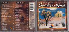 SECRETS OF THE WORLD 2-CD Dead Can Dance Jon Anderson Capercaillie Enigma Kitaro
