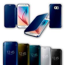 Smart View Transparente Flip Funda Protectora Para Samsung Galaxy S6 S6 EDGE