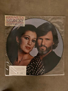 Kris & Rita - Natural Act - Picture Disc LP - 1979.  Sealed!! Mint!!  Rare!!!
