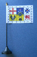 Australian Royal Standard Desk Table Top Flag
