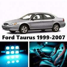 12pcs LED ICE Blue Light Interior Package Kit for Ford Taurus 1999-2007