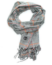 SCIARPA Timberland prince of wales scarf 170x27 BLACK TB0M5624.PL001