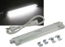 230V LED Unterbauleuchten SMD Pro weiß 27, 40 oder 60 cm, Licht weiß o. warmweiß