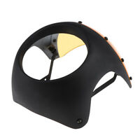"""7"""" Motorcycle Universal Retro Headlight Fairing Wind Screen Cover Cafe Racer"""