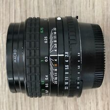 Sigma 24mm f2.8 Super-Wide II Nikon F Mount Wide Angle Manual Focus Prime Lens
