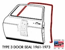 New VW Type 3 Door Seal 1961-1973 Notchback Squareback Fastback