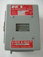 New E-MON D-MON 208200 A.C. KILOWATTHOUR METER 4 WIRE 115/208V  200 AMPS