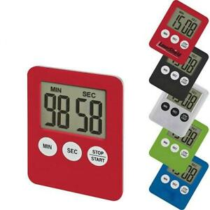 Digital LCD Large Kitchen Cooking Timer Count-Down Clear Alarm Magnetic Items