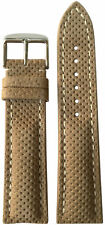 22mm XL RIOS1931 for Panatime Khaki Leather Watch Strap for Breitling 22x18