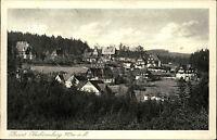 Oberbärenburg Sachsen Sächsische Schweiz Erzgebirge 1935 gelaufen nach Hamburg