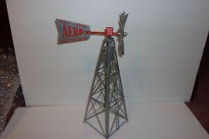 AERO Metal Windmill Model No 12-B Geneva Nebr Salesman Sample or Train Display