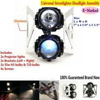 Motorcycle Streetfighter Headlight Head Lamp For SUZUKI DR RM 250 Custom