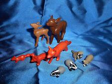 Playmobil Tiere des Waldes Rehe Füchse Waschbären Dachse Konvolut top