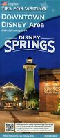 Rare 2015 Downtown Disney Transforming Into Disney Springs Fold Out Map & Guide