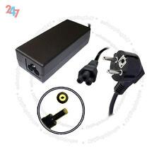 Adaptador de cargador para HP/Compaq NX6125 NX9030 NC6200 65W + S247 Cable De Alimentación Euro