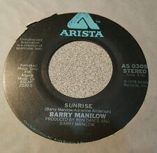 Barry Manilow – Can't Smile Without You / Sunrise ~ (VG+)
