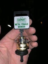 Lot of 2 Garden Hose Mender With Clamp Expert Gardener Metal Female Mender