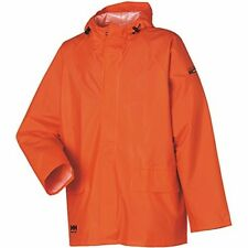 Helly Hansen Mandal Jacket 70129 PVC Raincoat - 100% Waterproof Dark Orange XL